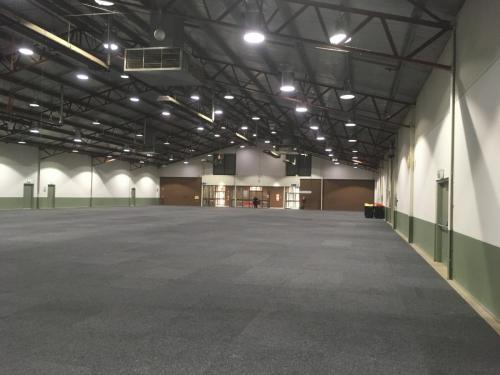 Inside Fitzroy Pavilion